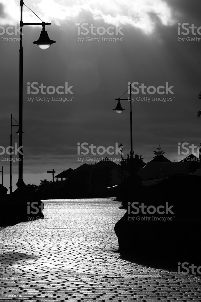 Silva path stock photo