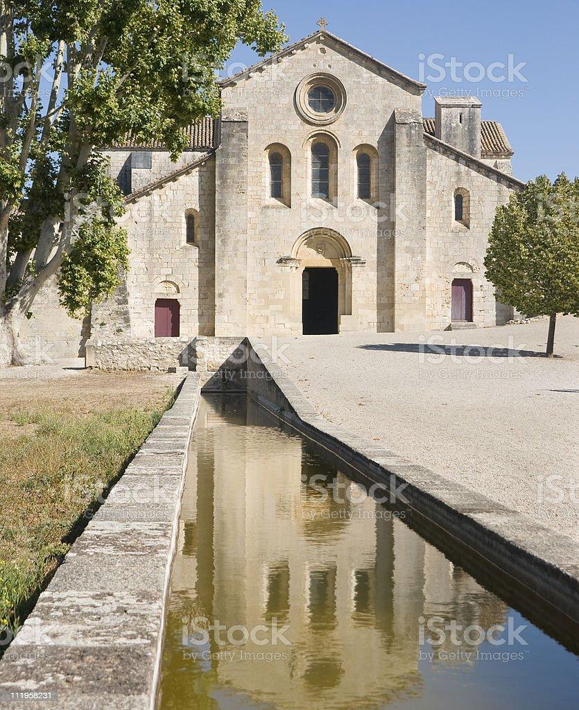 Silvacane Abbey Church royalty-free stock photo