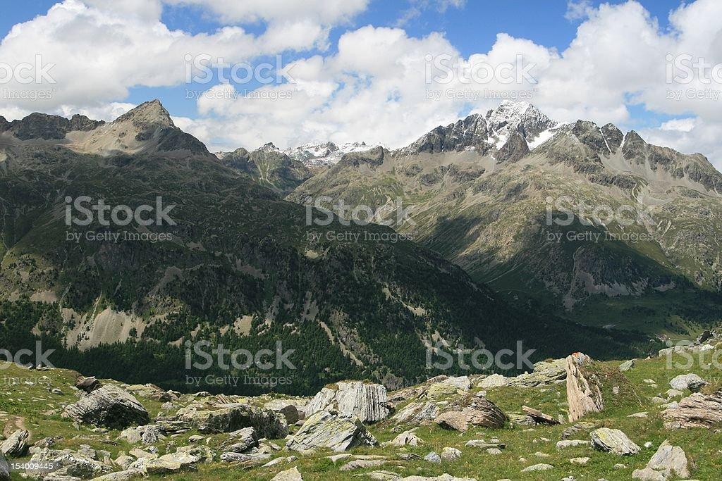 Silvaplana Area, Switzerland royalty-free stock photo