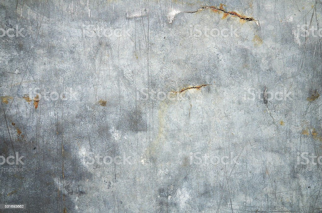 Silver aluminum sheet metal stock photo