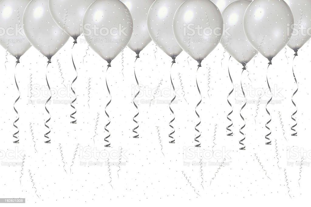 Silver Anniversary Celebration stock photo