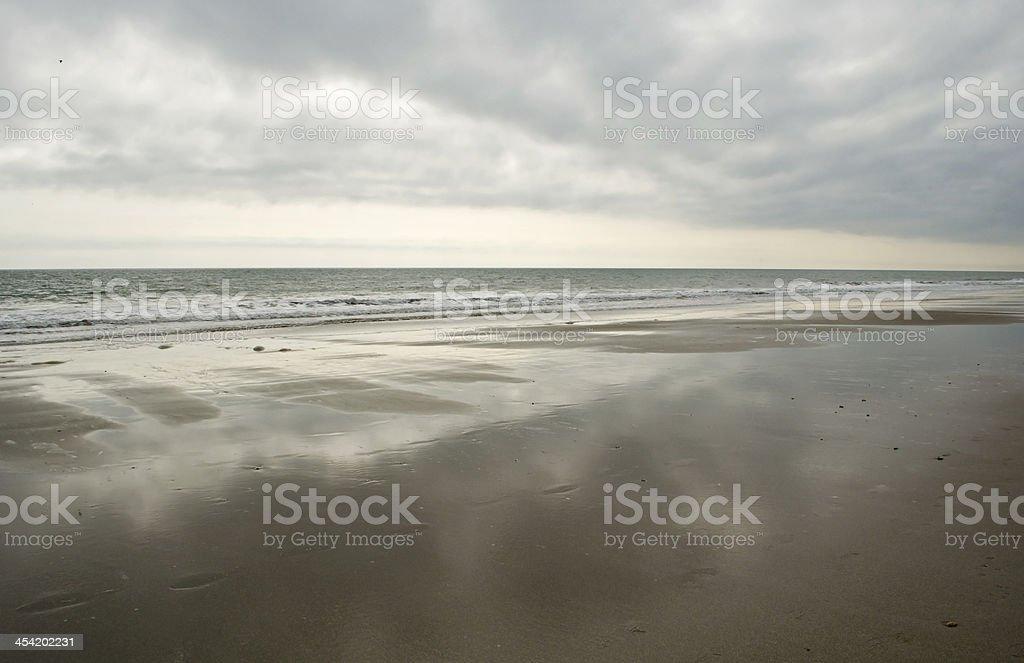 Silver Beach of South Carolina stock photo
