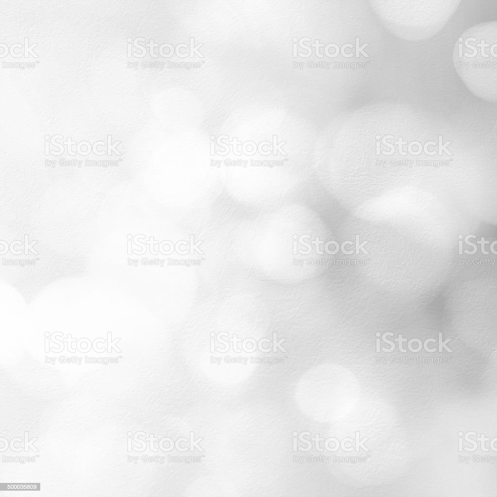 Silver bokeh textured background stock photo
