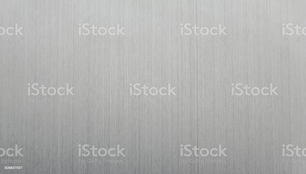 Silver Brushed Metal Texture stock photo