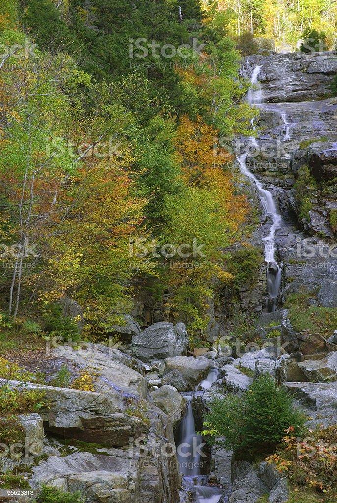 Silver Cascades stock photo