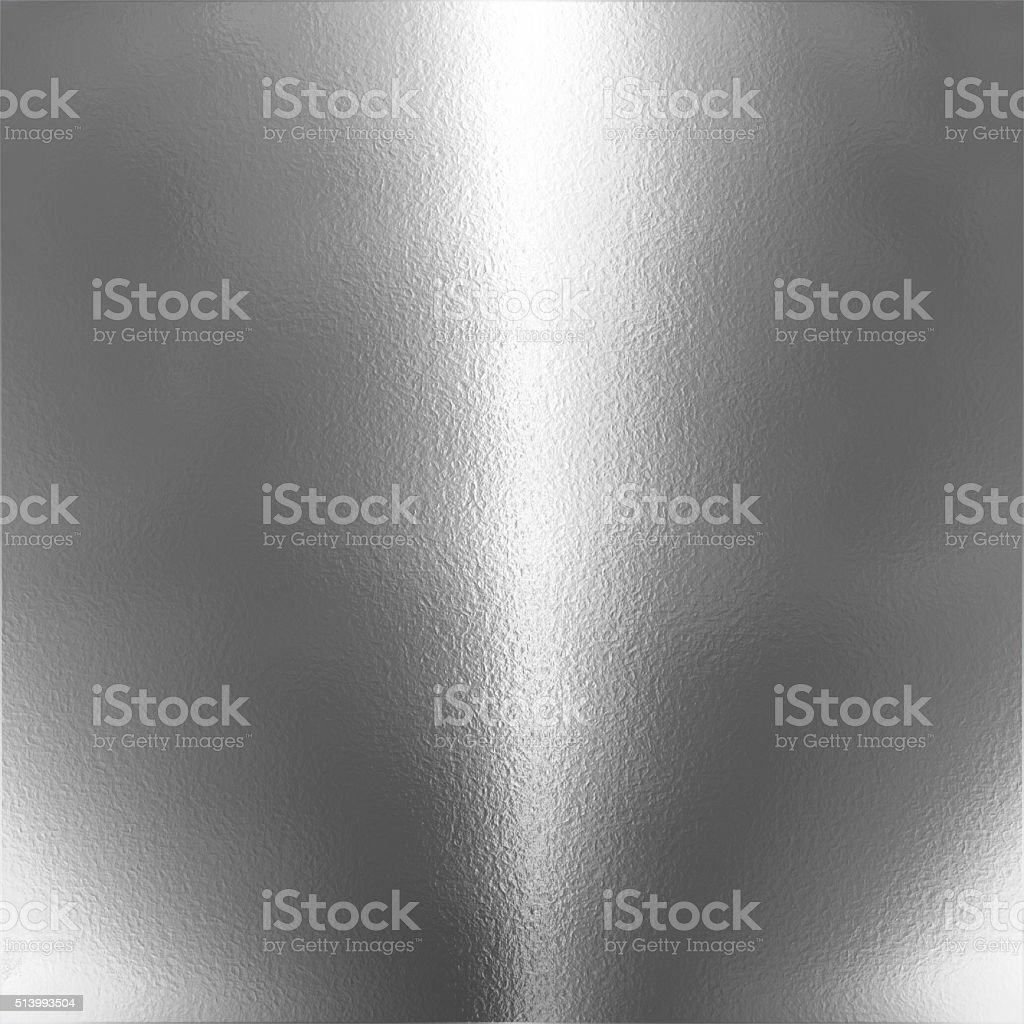 Silver chrome background stock photo