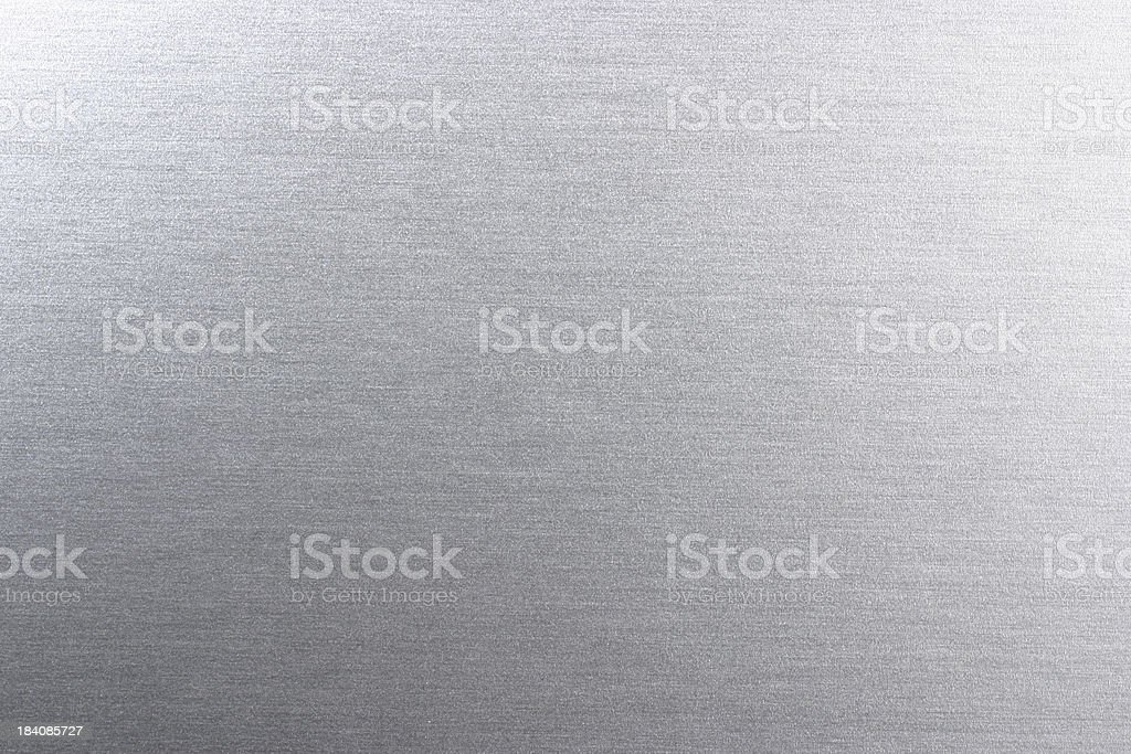 Silver Chrome Surface stock photo
