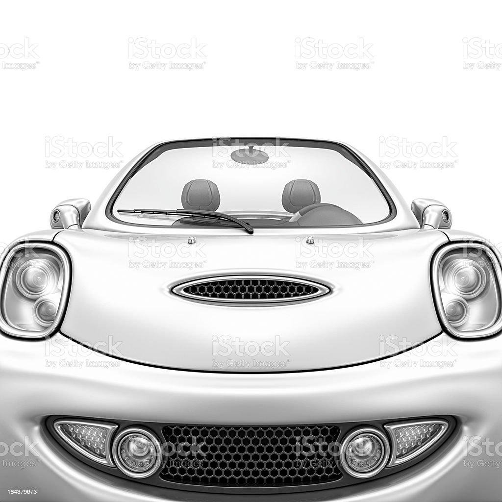silver city car royalty-free stock photo
