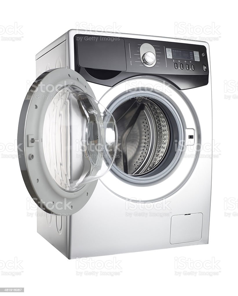 Washing Machine+Clipping Path stock photo