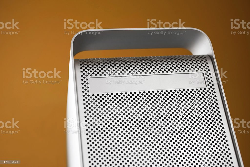 silver computer royalty-free stock photo