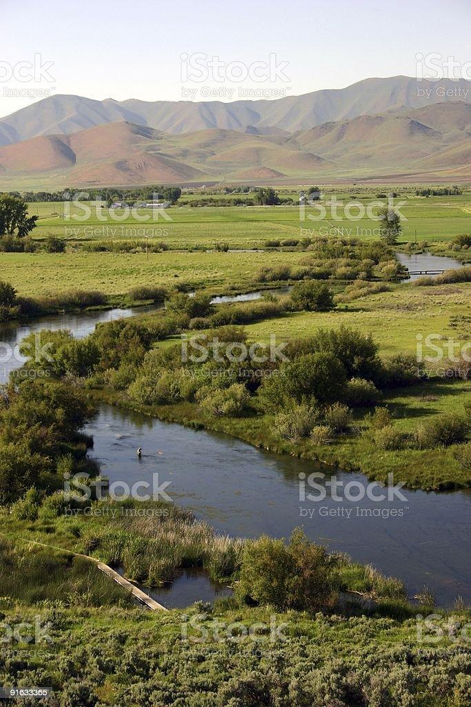 Silver Creek, Idaho stock photo