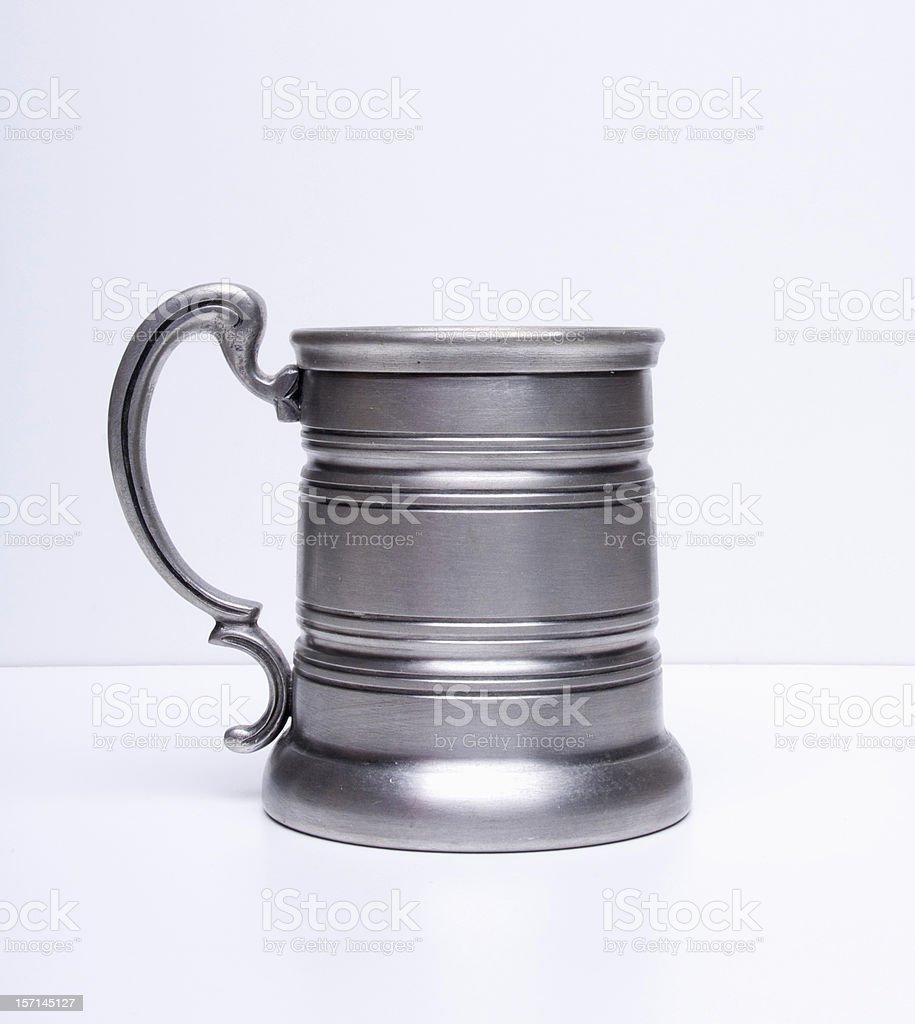 Silver cup royalty-free stock photo