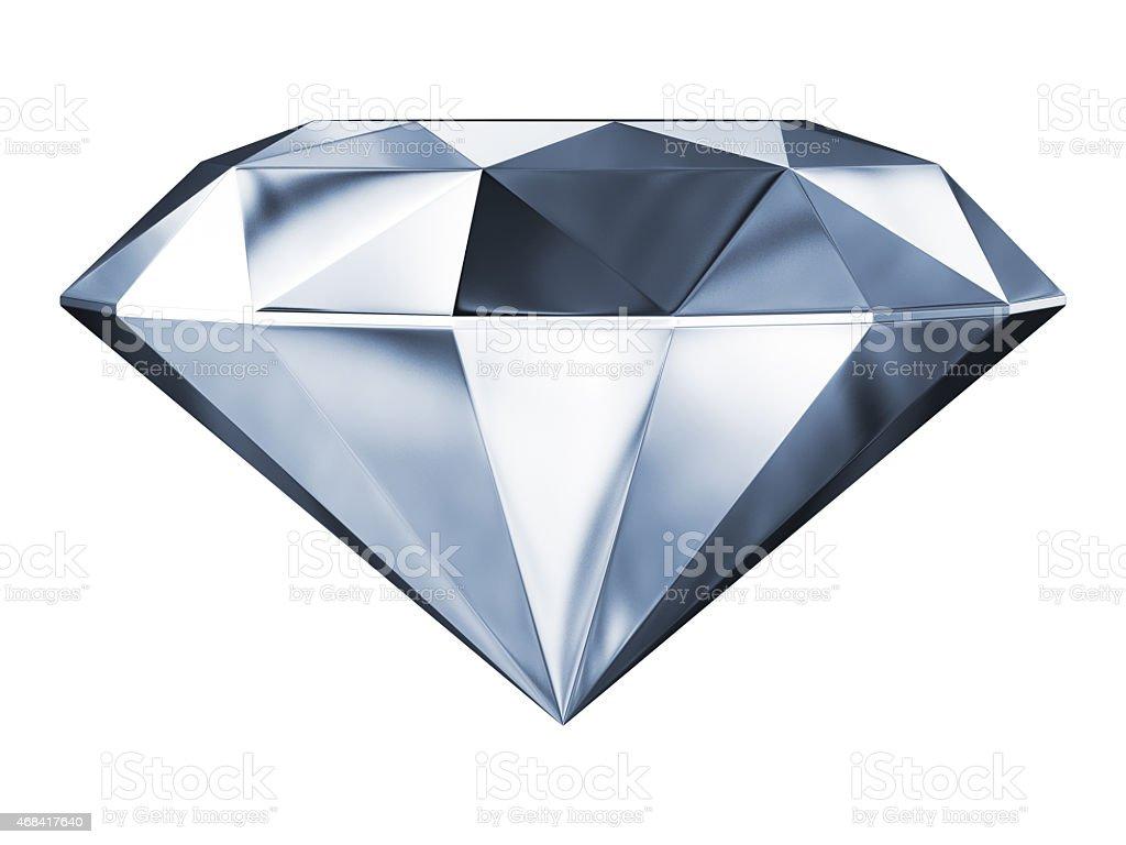 Silver Diamond stock photo