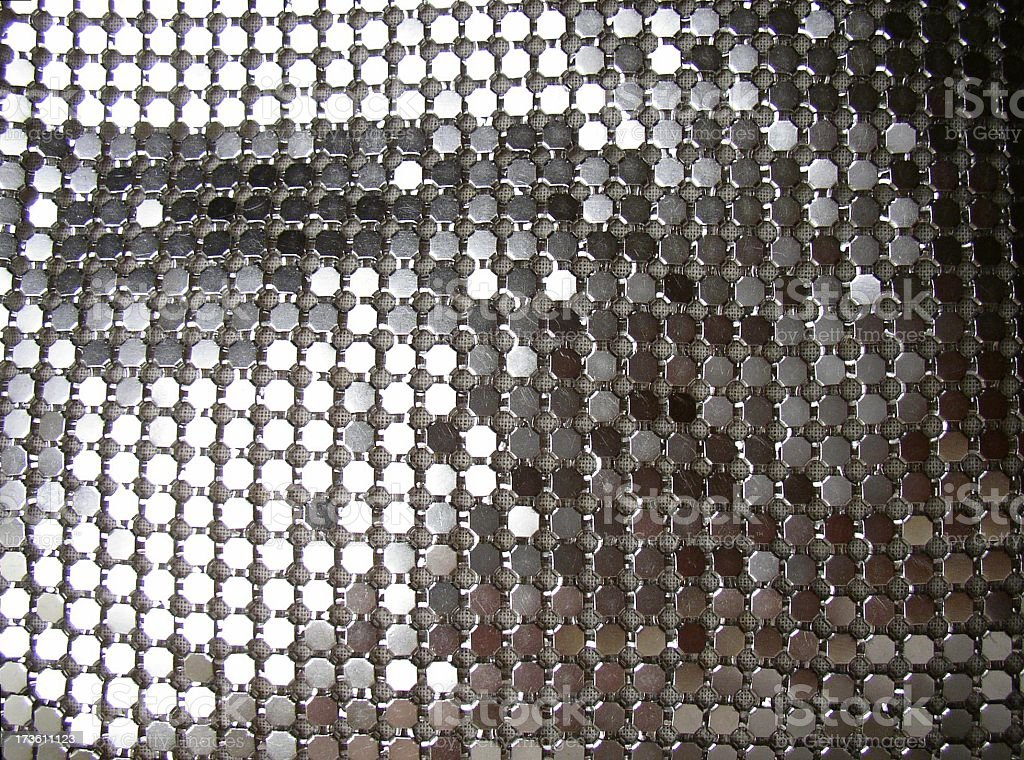 silver disco background #2 royalty-free stock photo