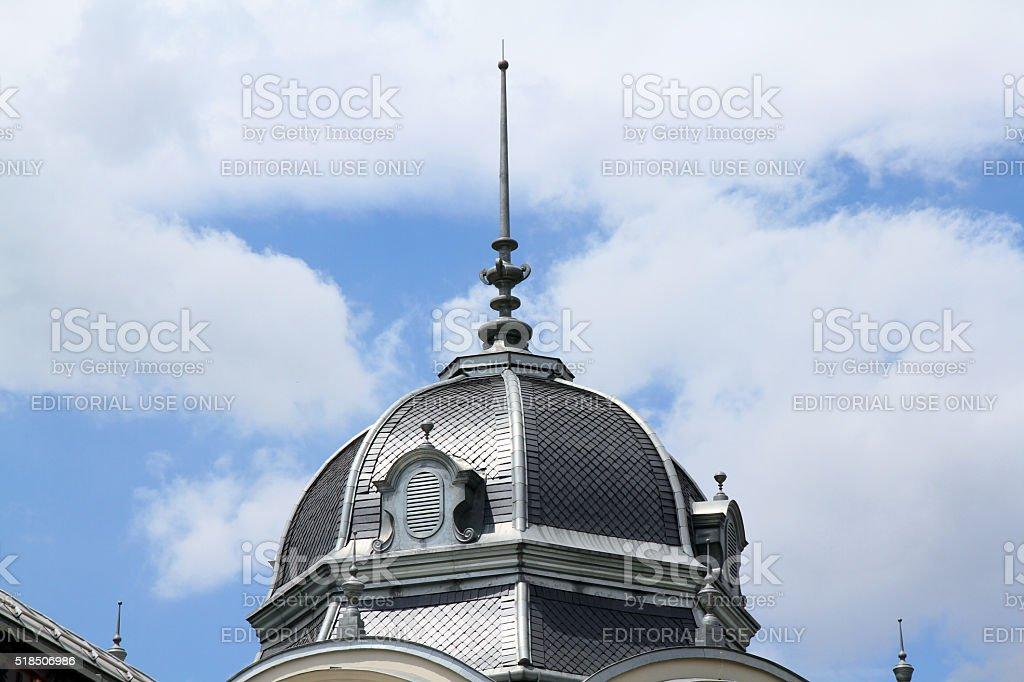 Silver Dome stock photo