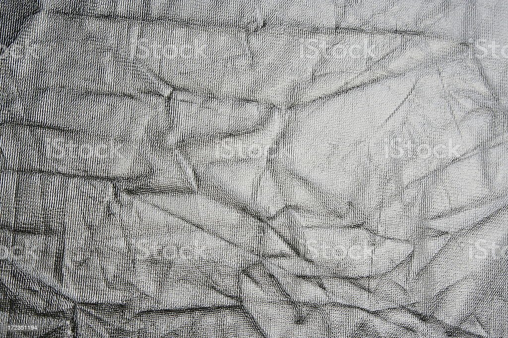 Silver fabric royalty-free stock photo