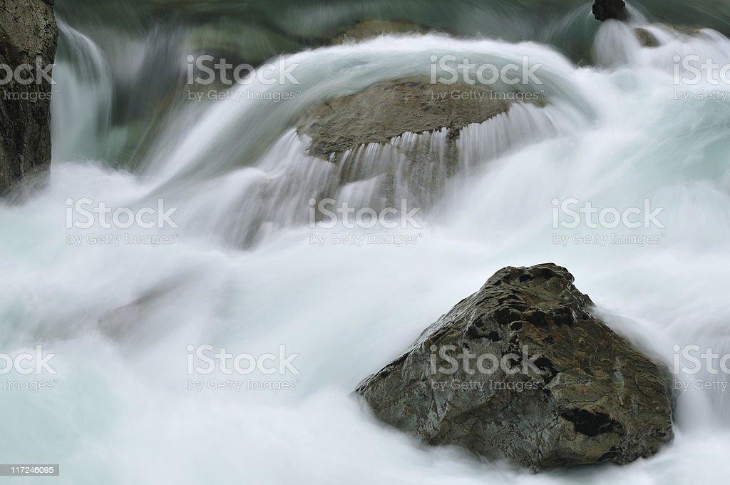 Silver Falls cascade stock photo