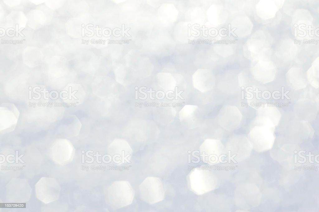 Silver glitter stock photo