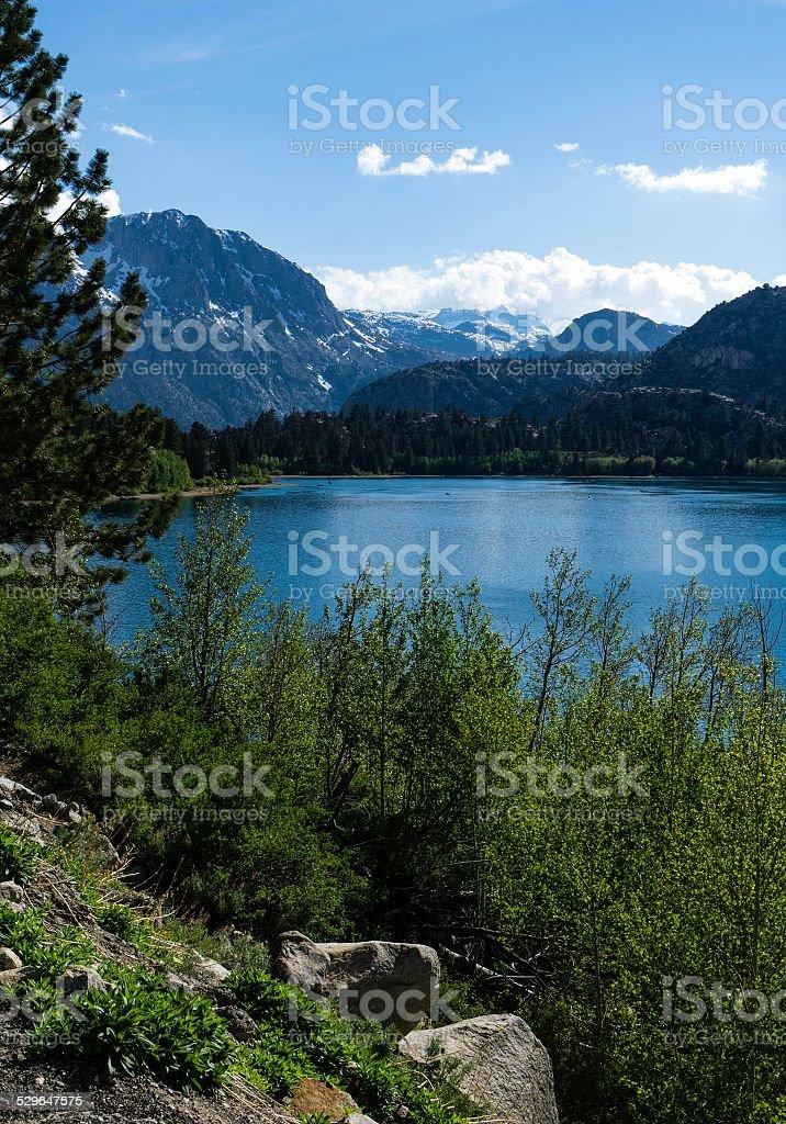 Silver Lake, California stock photo