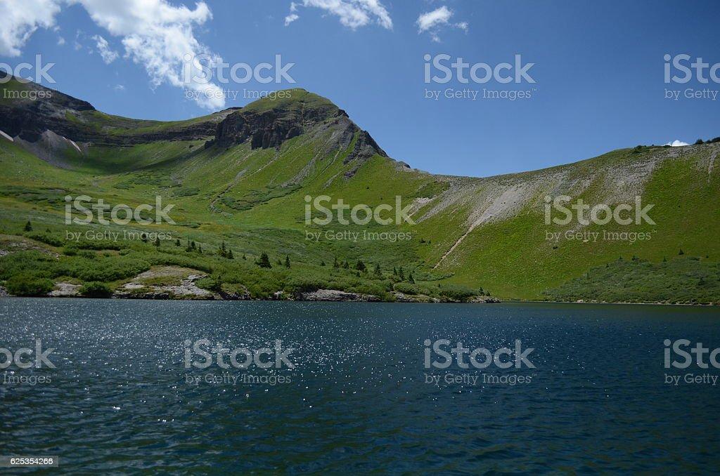Silver Lake Colorado stock photo