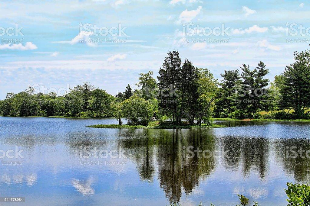 Silver Lake stock photo