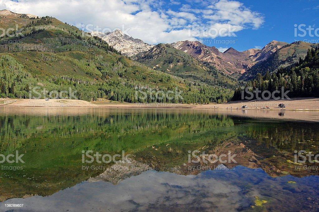 Silver Lake, Utah royalty-free stock photo