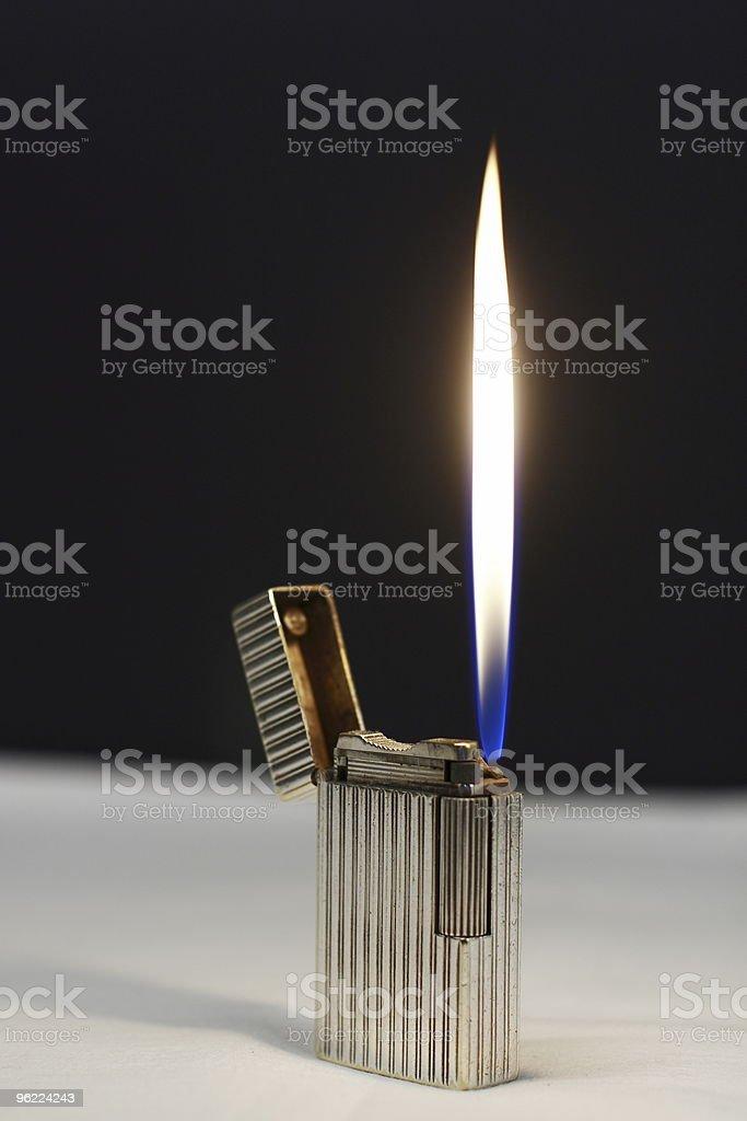 Silver Lighter stock photo