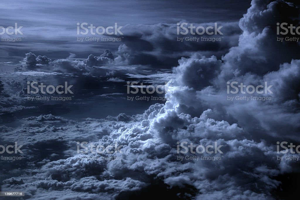 Silver Lining in the Clouds royalty-free stock photo