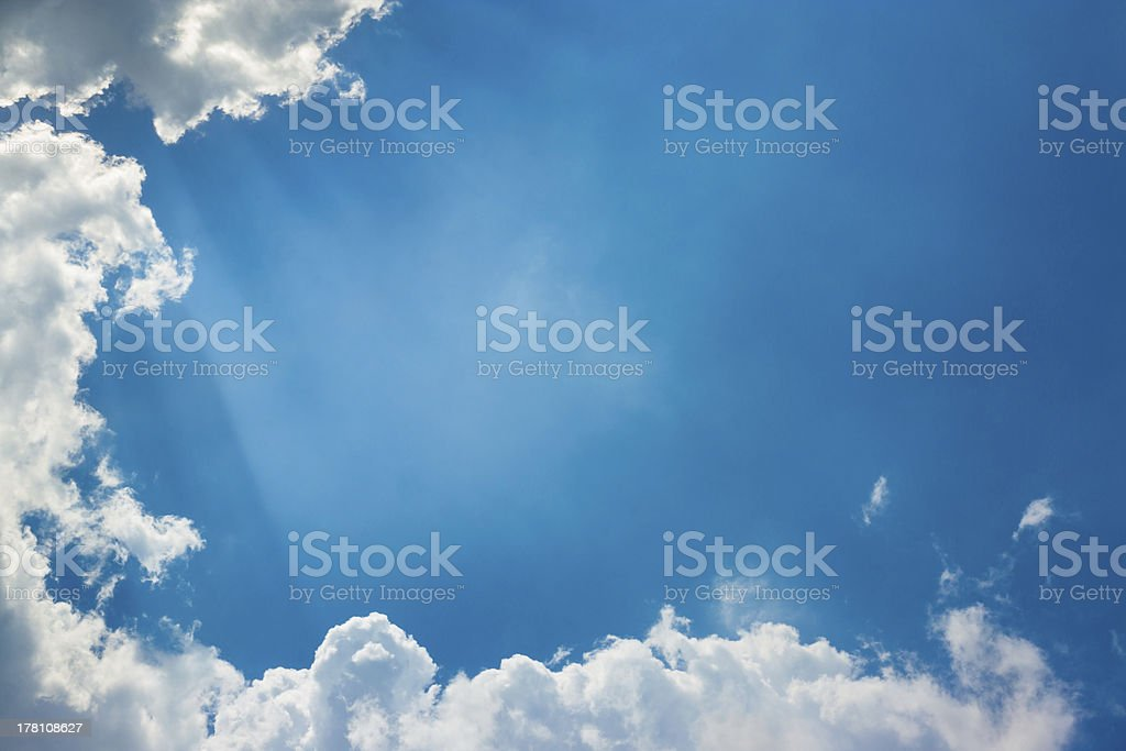 Silver Lining royalty-free stock photo