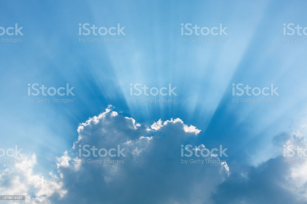 Silver Lining stock photo