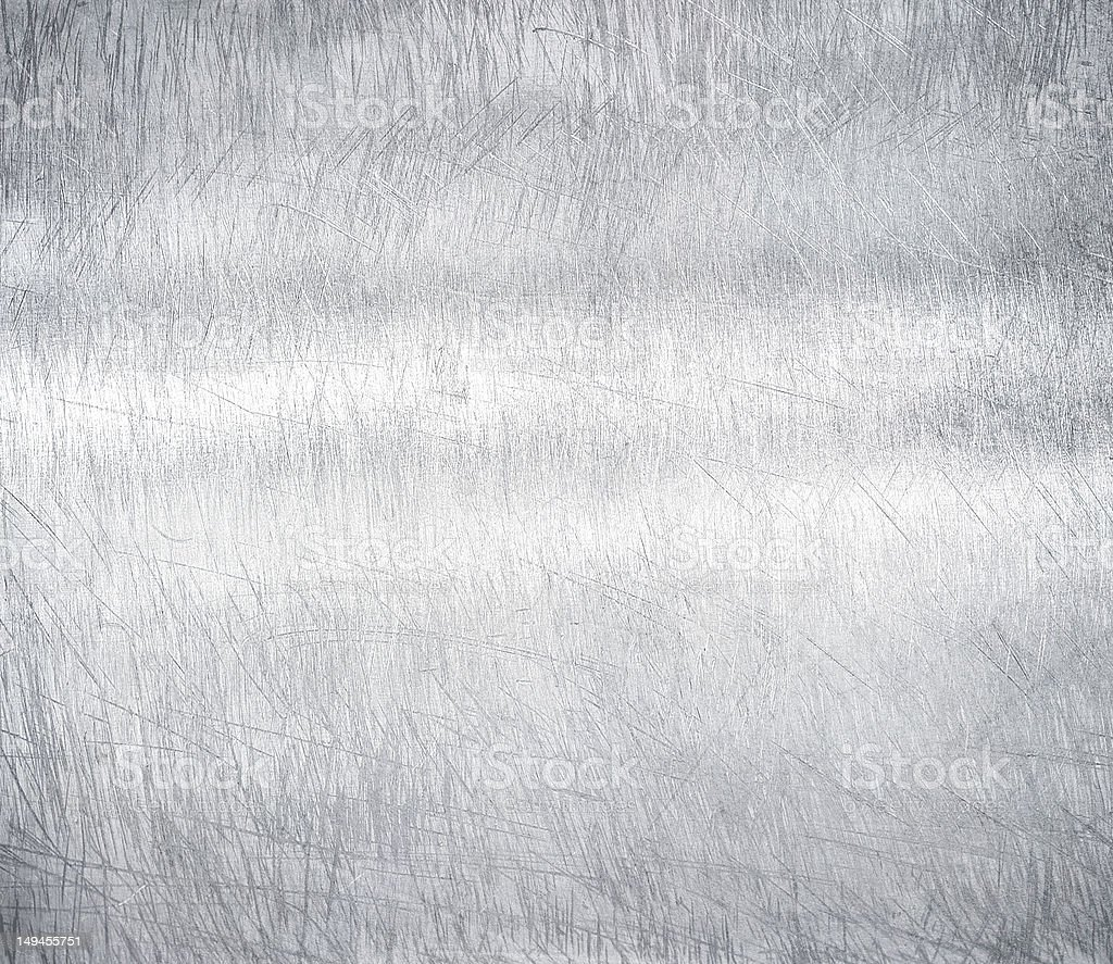 Silver metal steel plate background stock photo
