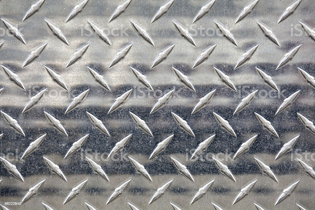 silver metal treads royalty-free stock photo