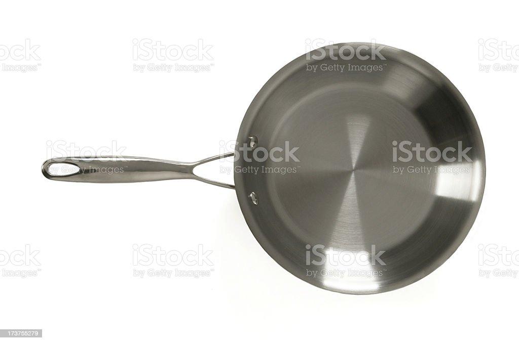 Silver pan royalty-free stock photo