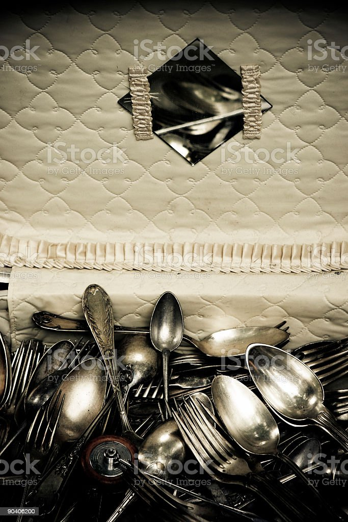 Silver royalty-free stock photo