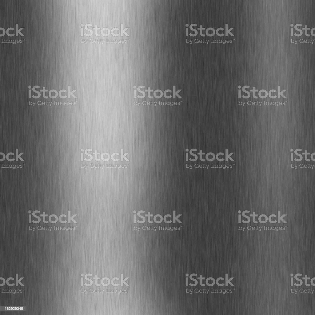 silver plate with reflection royalty-free stock photo