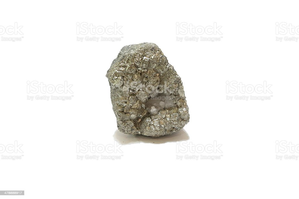 silver raw material stock photo
