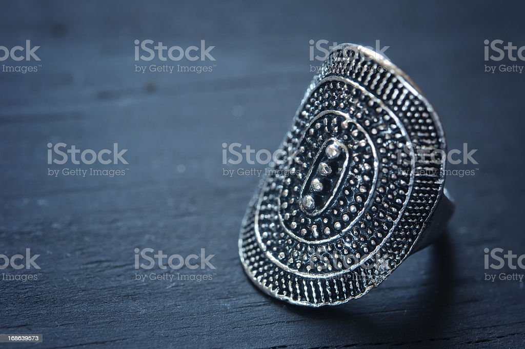 Silver Ring royalty-free stock photo