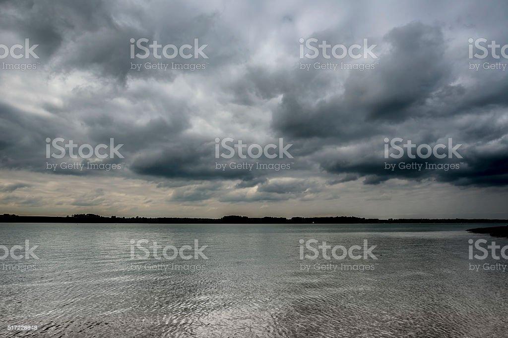 Silver Sea stock photo