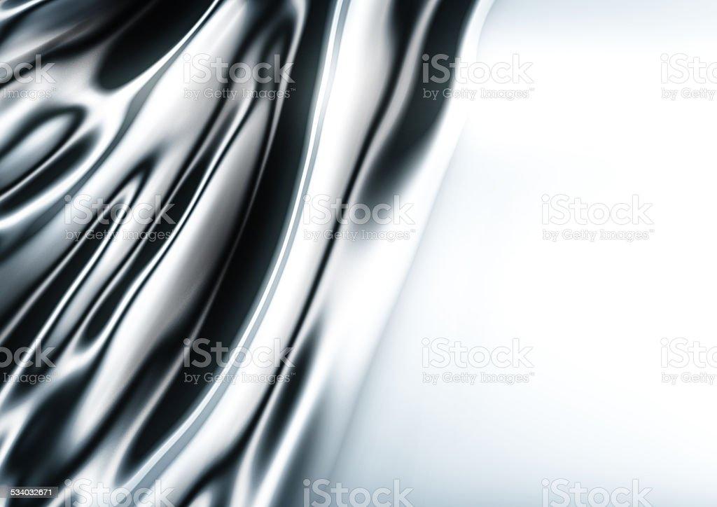 silver silk background stock photo