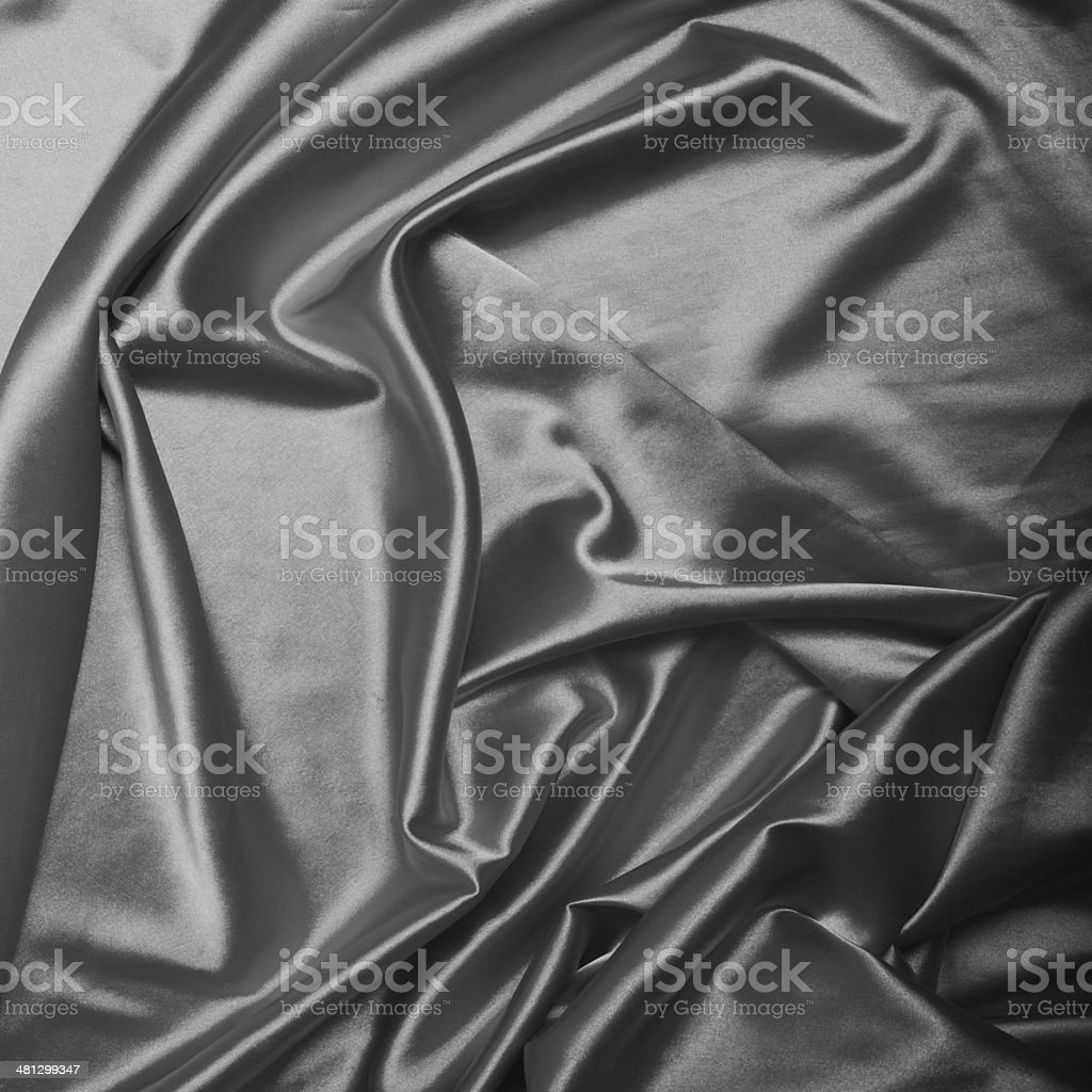 Silver silk background texture close up royalty-free stock photo