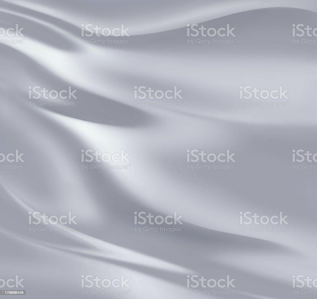 silver silk stock photo