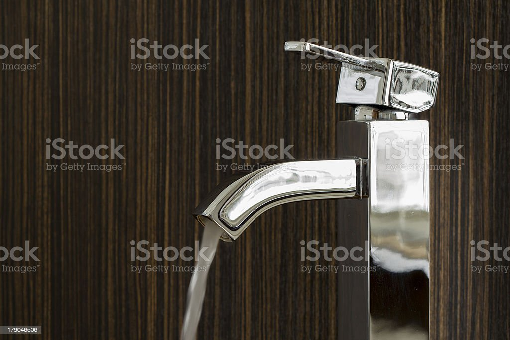 silver sink royalty-free stock photo