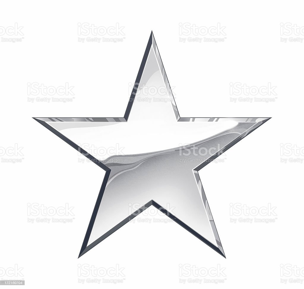 Silver Star stock photo