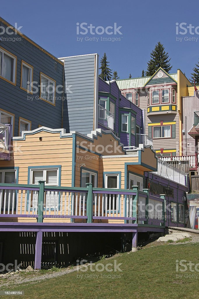 Silver Star Resort Vernon British Columbia stock photo