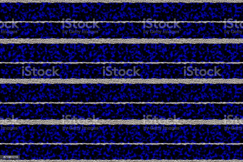 Silver Stripes with Blue Plasma Background stock photo