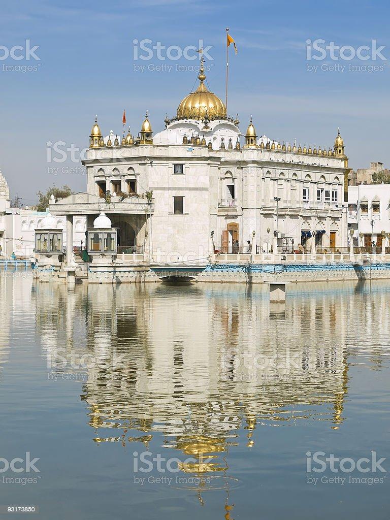 Silver Temple Amritsar royalty-free stock photo