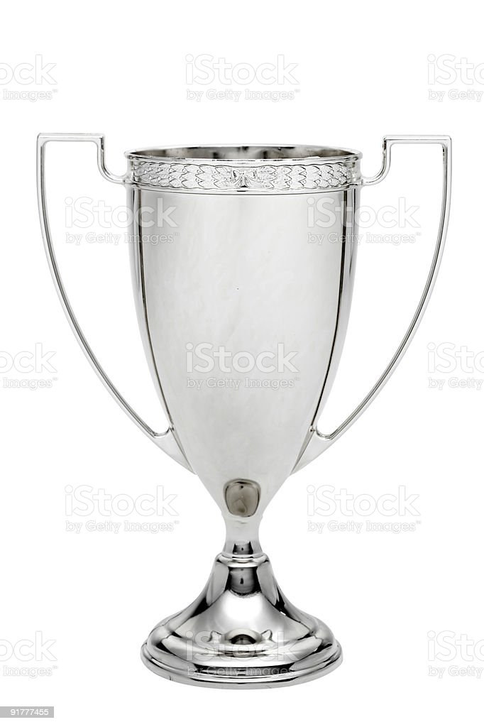Silver Trophy royalty-free stock photo