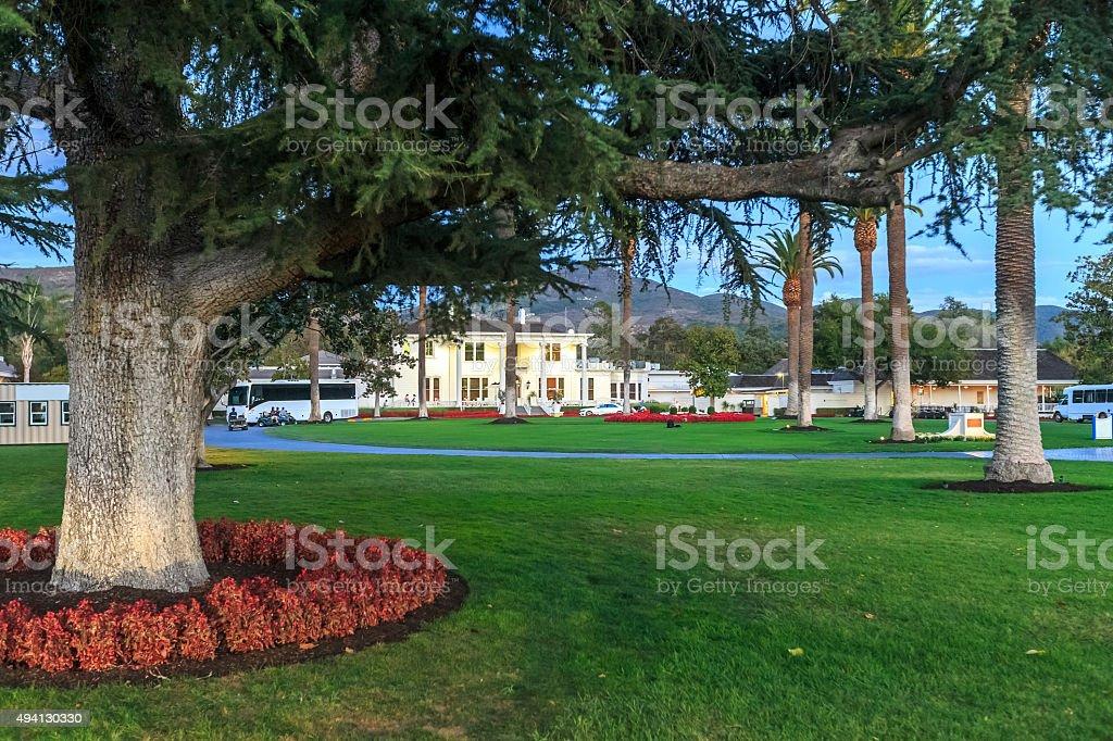 Silverado Resort and Spa at Napa Valley stock photo