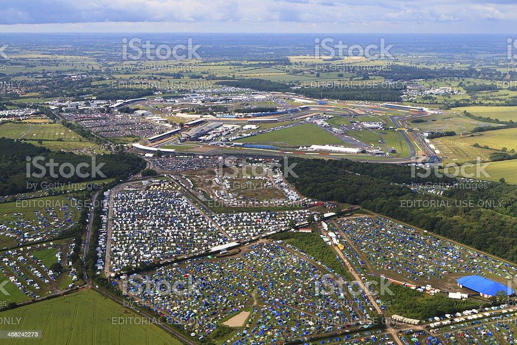 Silverstone Circuit stock photo