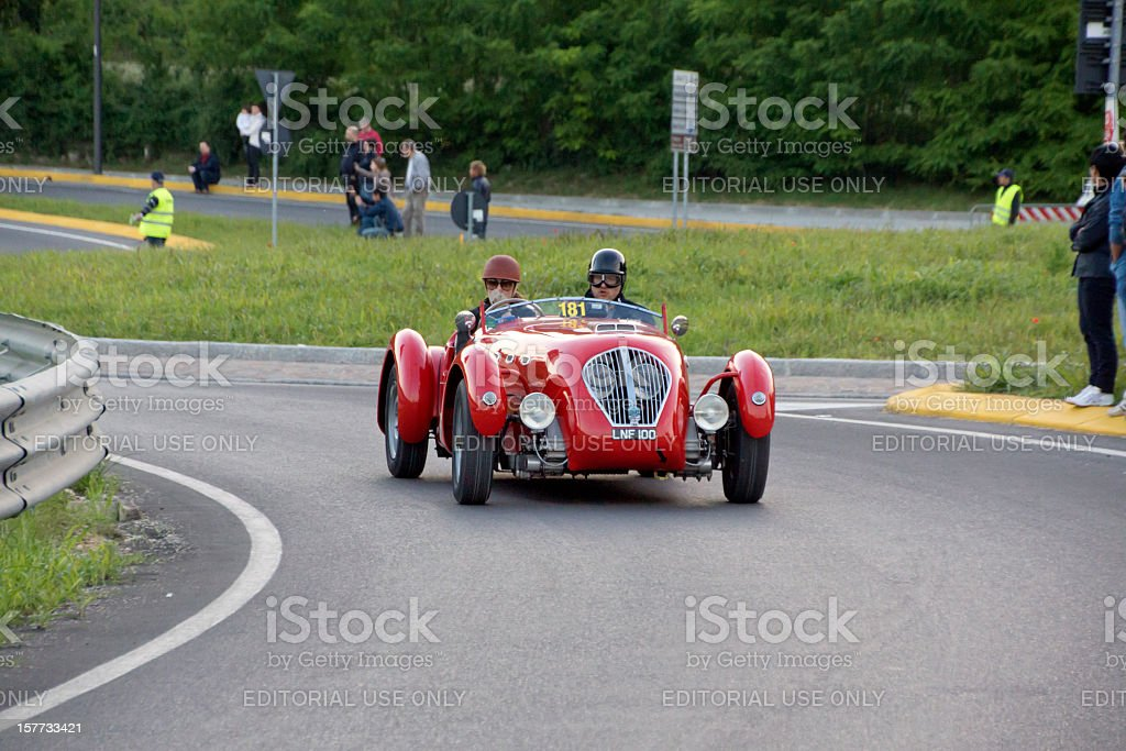 HEALEY Silverstone Sport vintage car (year 1950) stock photo